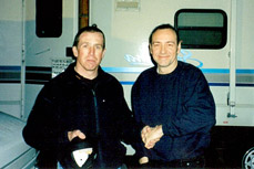 Norman  Kelly with Kevin Spacey